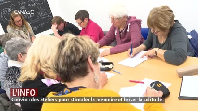 Couvin : Des ateliers pour stimuler la mémoire et briser la solitude