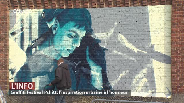 Graffiti Festival Pshitt: l'inspiration urbaine à l'honneur