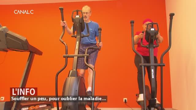 Namur - Souffler un peu, pour oublier la maladie...