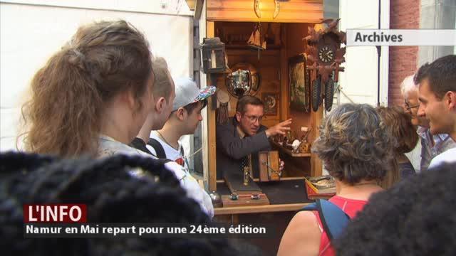 Namur en mai : l'art forain de retour à Namur