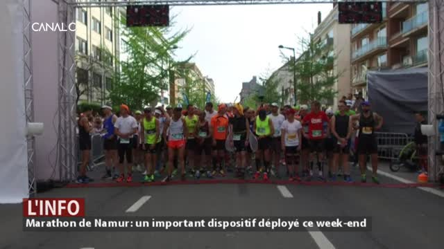 Marathon de Namur: un important dispositif déployé pour ce week-end