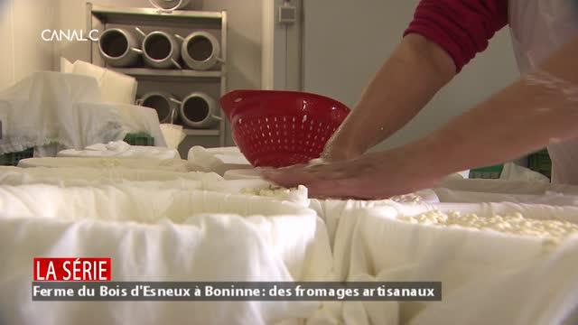 Ferme du Bois d'Esneux à Boninne: des fromages artisanaux