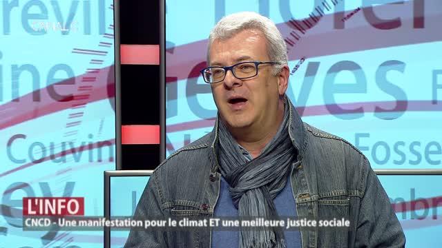 Notre invité: Thomas Nagant, chargé de campagne CNCD en province de Namur
