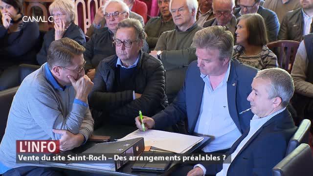 Couvin : Pipée d'avance la vente du site Saint-Roch ?