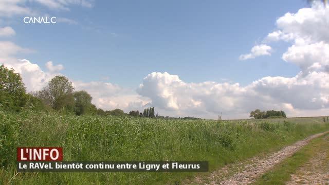 La liaison du RAvel entre Ligny et Fleuruys, c'est pour bientôt !