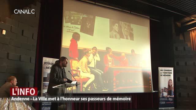 """Andenne - La Ville met à l'honneur ses """"passeurs de mémoire"""""""