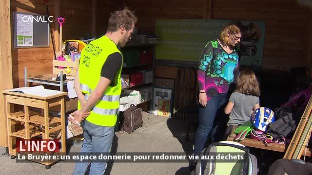 Récupérer les objets toujours utilisables dans les recyparcs, c'est maintenant possible à La Bruyère