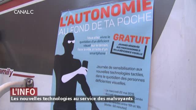 Les nouvelles technologies au service des malvoyants