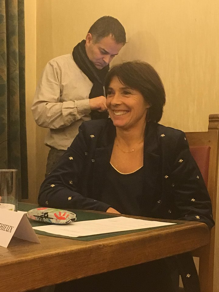 Françoise Mathieu (MR), 5e échevine