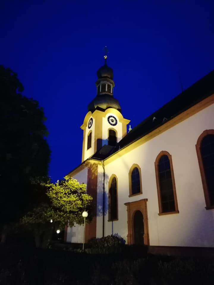 Schepzingen pendant la nuit