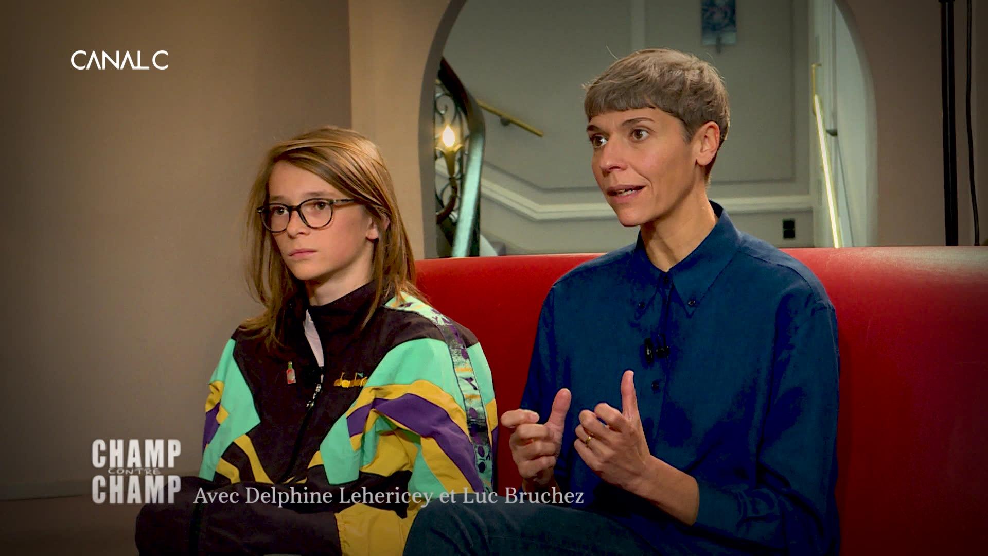 Delphine Lehericey et Luc Bruchez