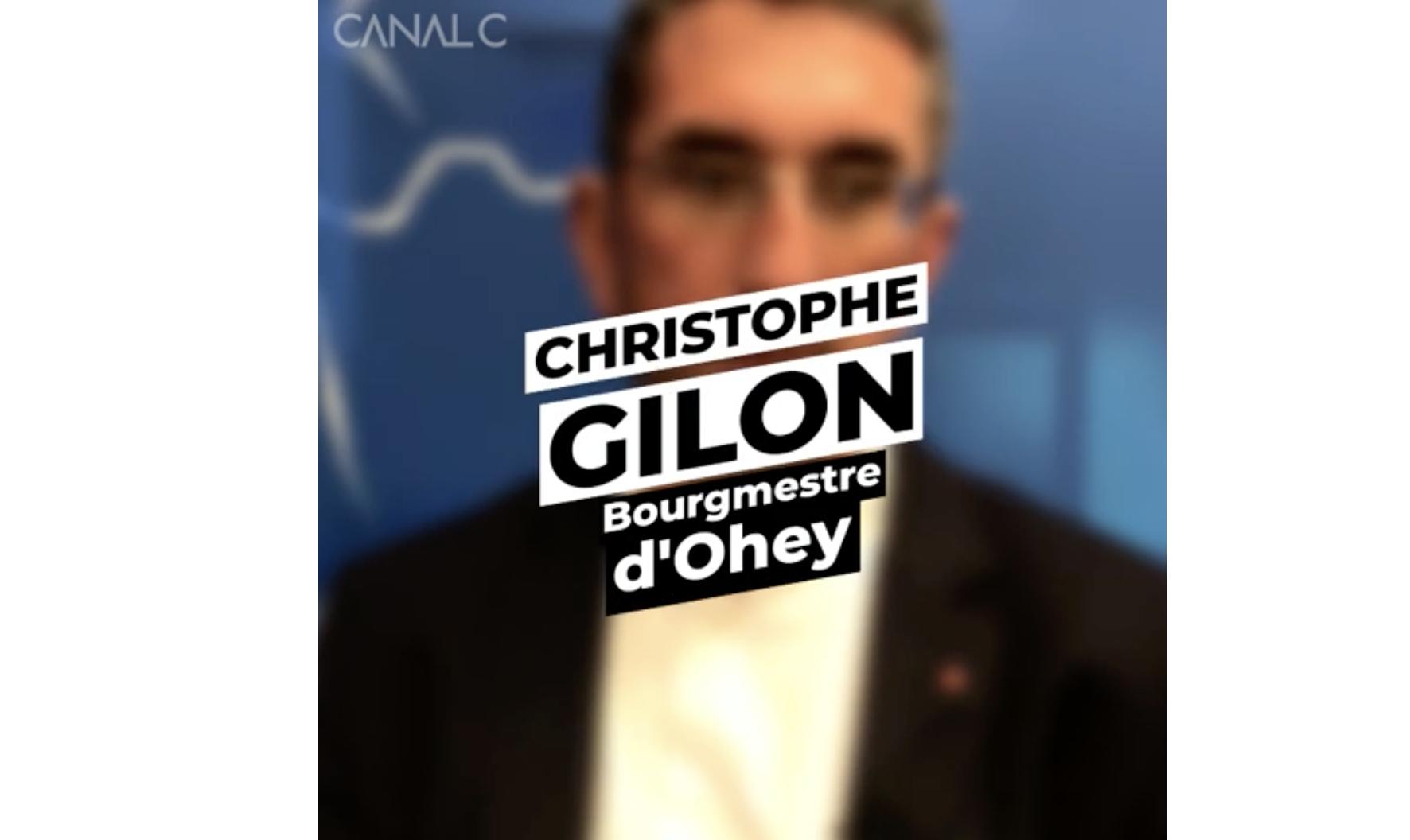 Christophe Gilon - Bourgmestre d'Ohey