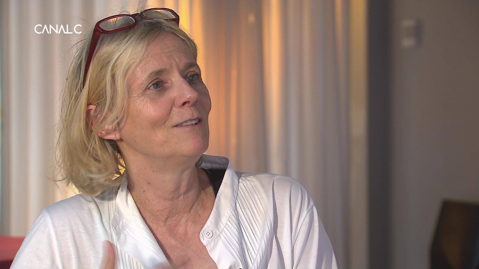 Florence Aubenas dans Entrée Libre