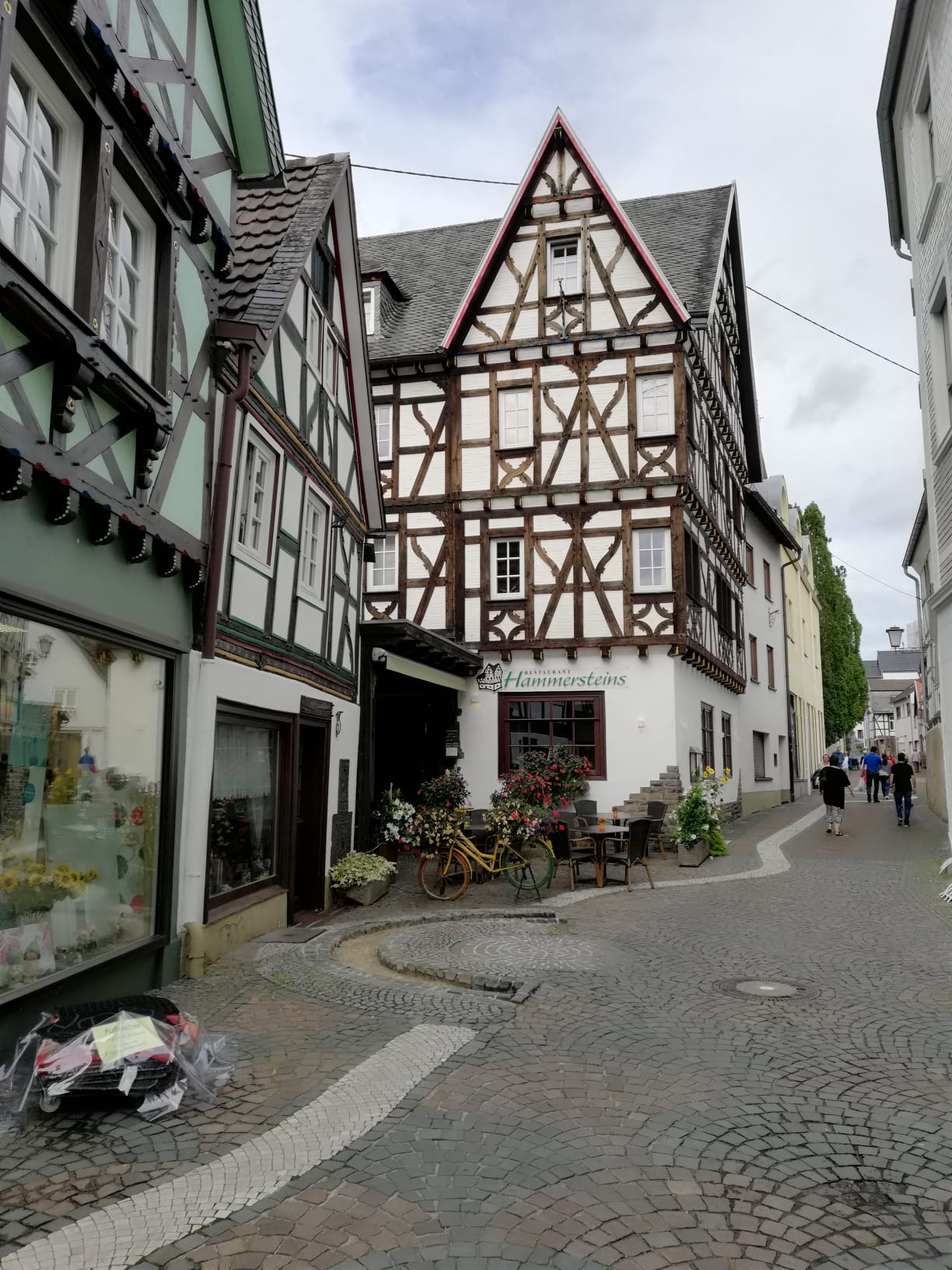 à Linz am Rhein pour le jour 7