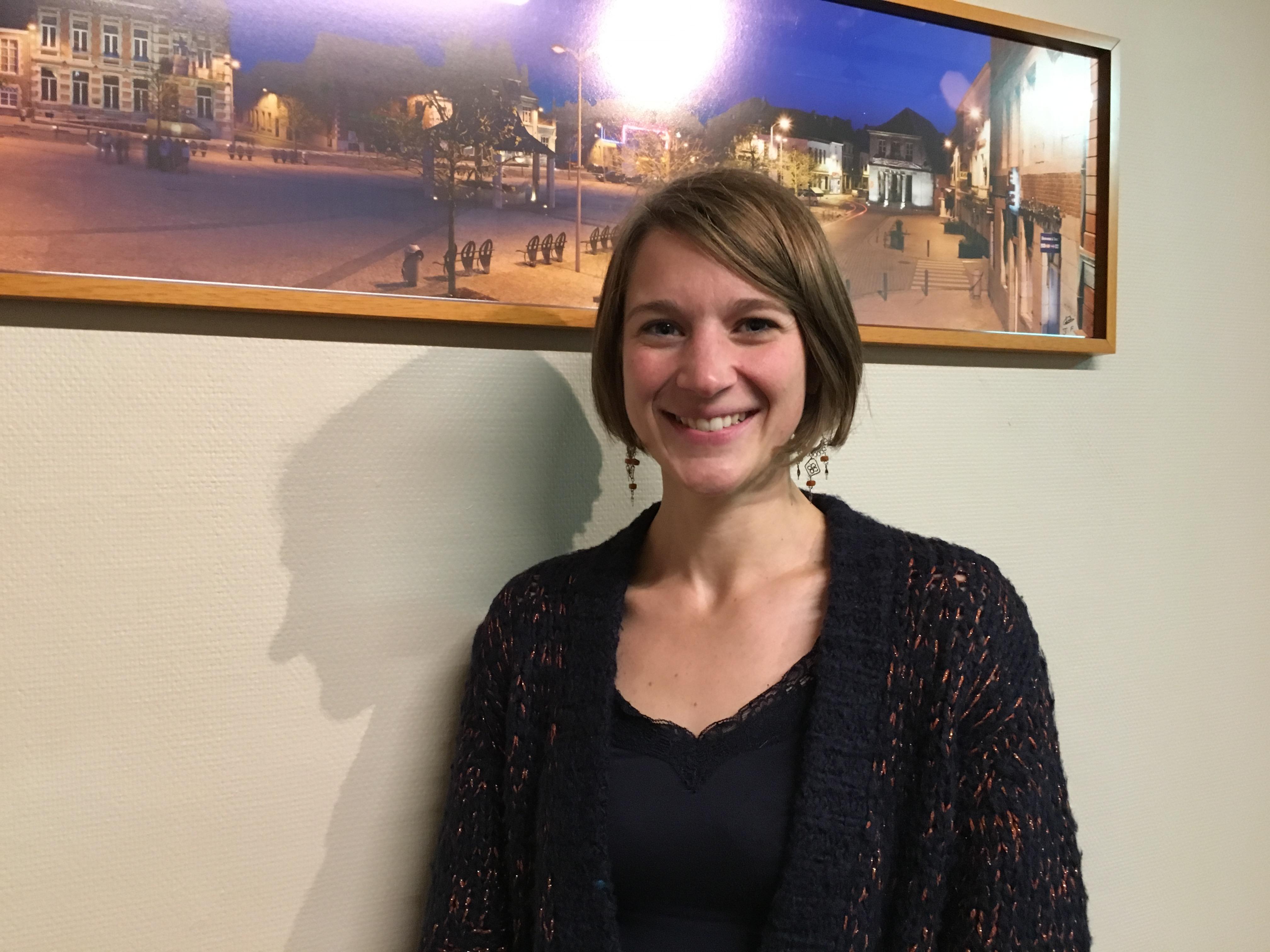 Anne-Caroline Burnet, échevine des finances