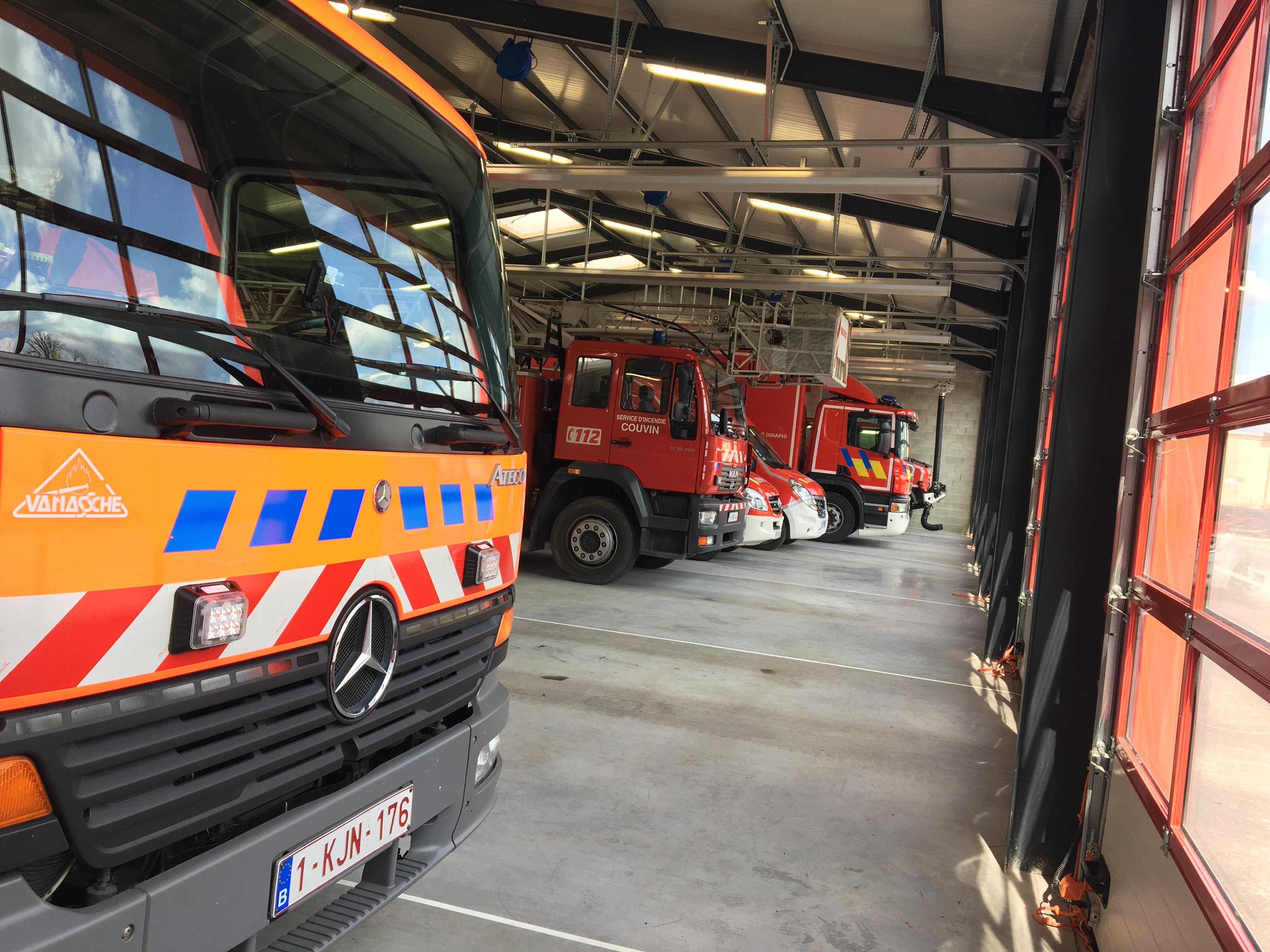 Les pompiers volontaires de Couvin sont en procès contre la Ville concernant leur garde à domicile.