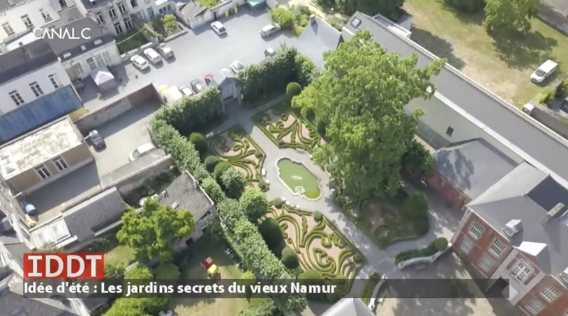 Les Jardins secrets du vieux Namur