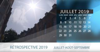 calendrier rétro 2019