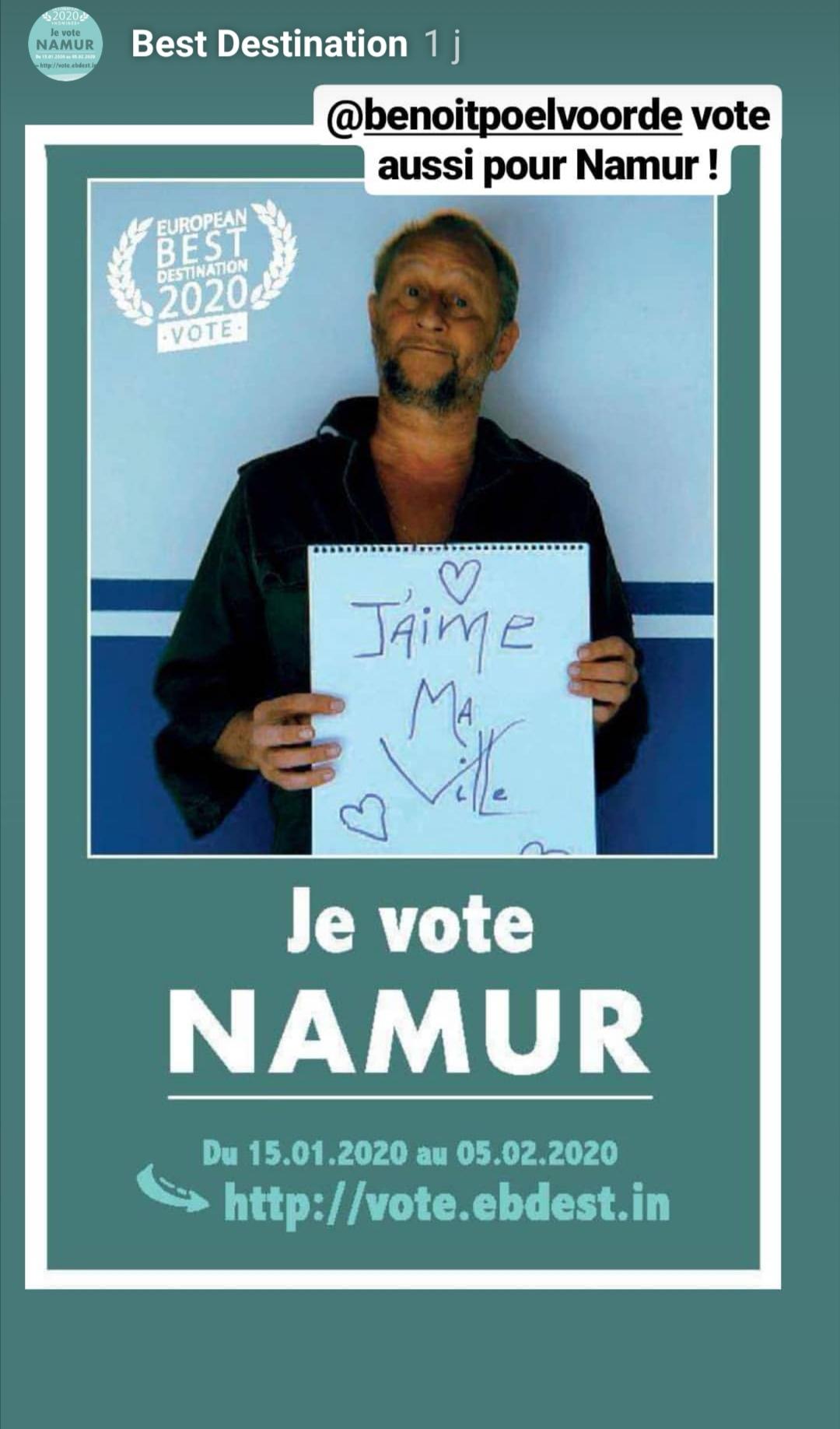 Benoit Poelvoorde a voté