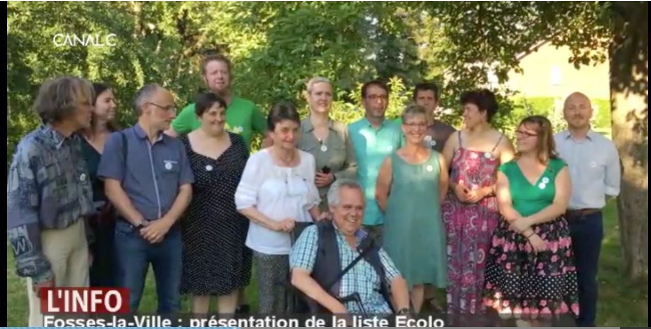 Fosses-la-Ville : présentation de la liste Ecolo