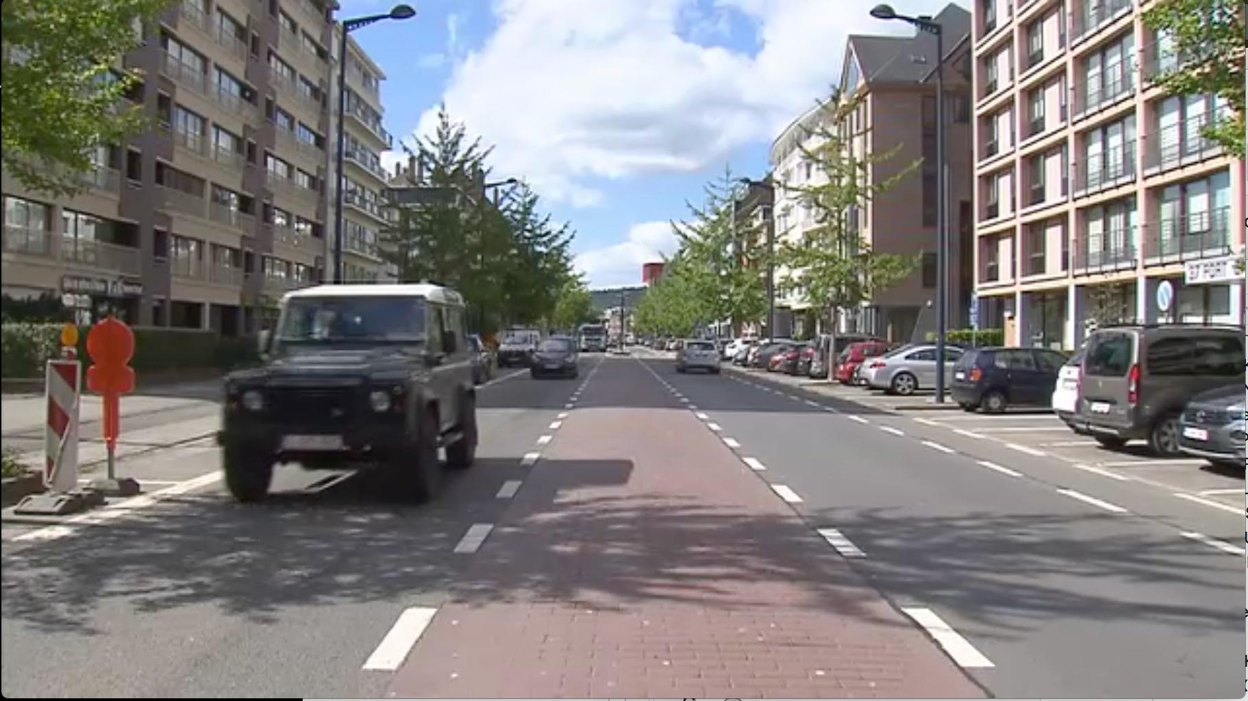 Travaux d'aménagement Avenue Bovesse
