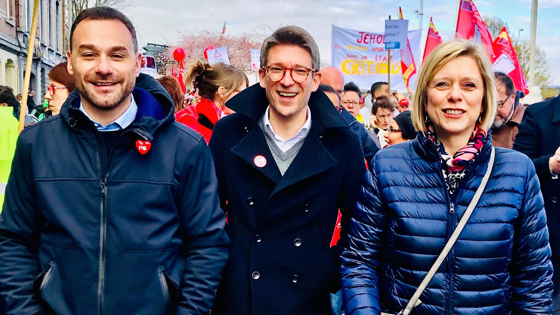 Élections régionales 2019: le PS présente trois duos pour les duels