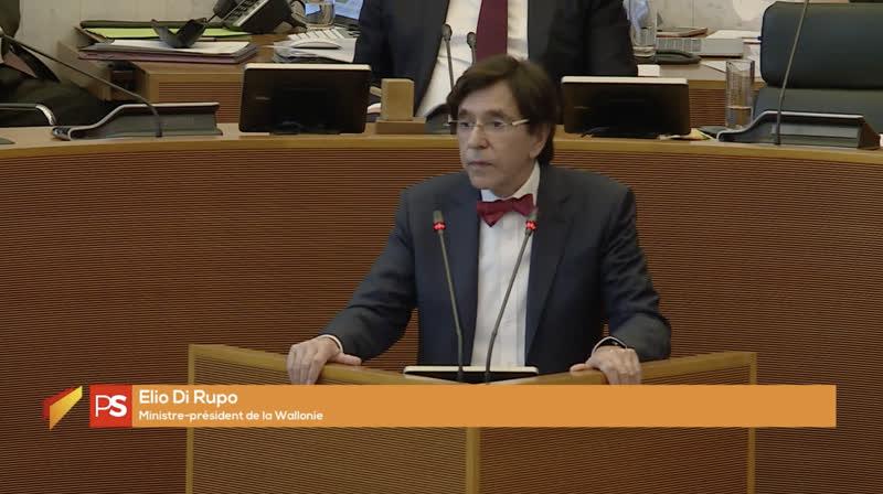 Elio Di Rupo au parlement
