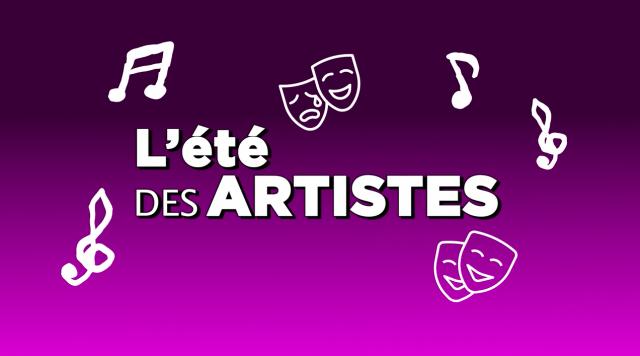 Logo été des artistes