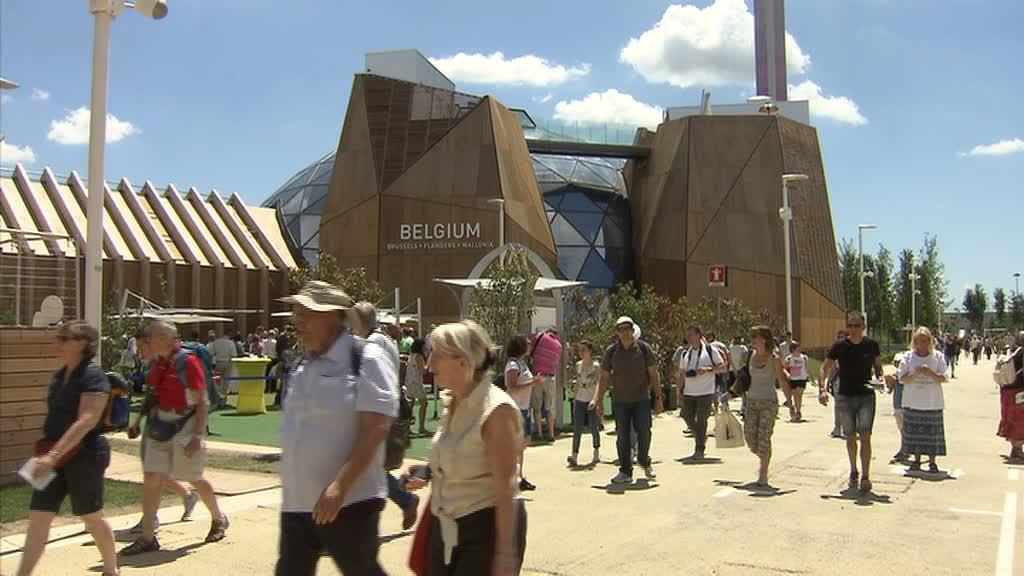 Expo Milan Les Stands : Expo universelle les namurois à milan canal c