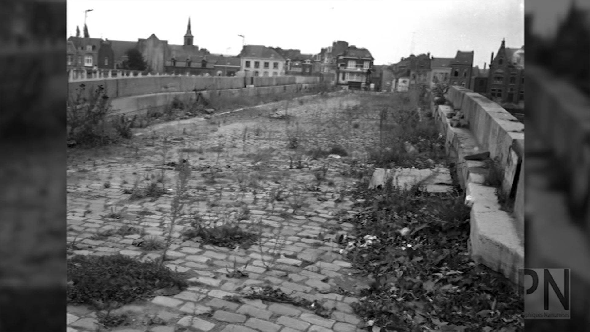 état du pont après guerre