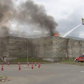 Incendie au Bep Environnement