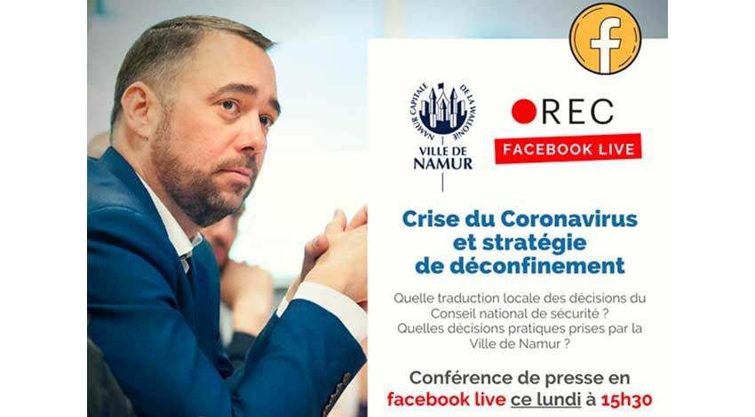 Maxime Prévot live