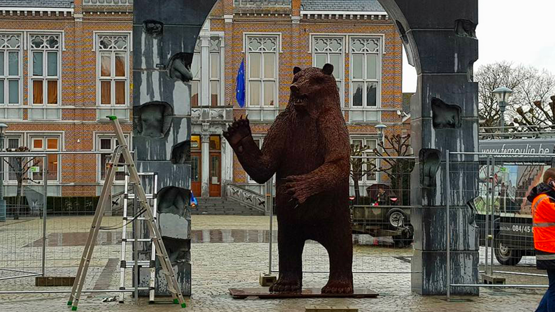 Lincon, l'ours d'acier ©Demoulin Ferronnerie sprl