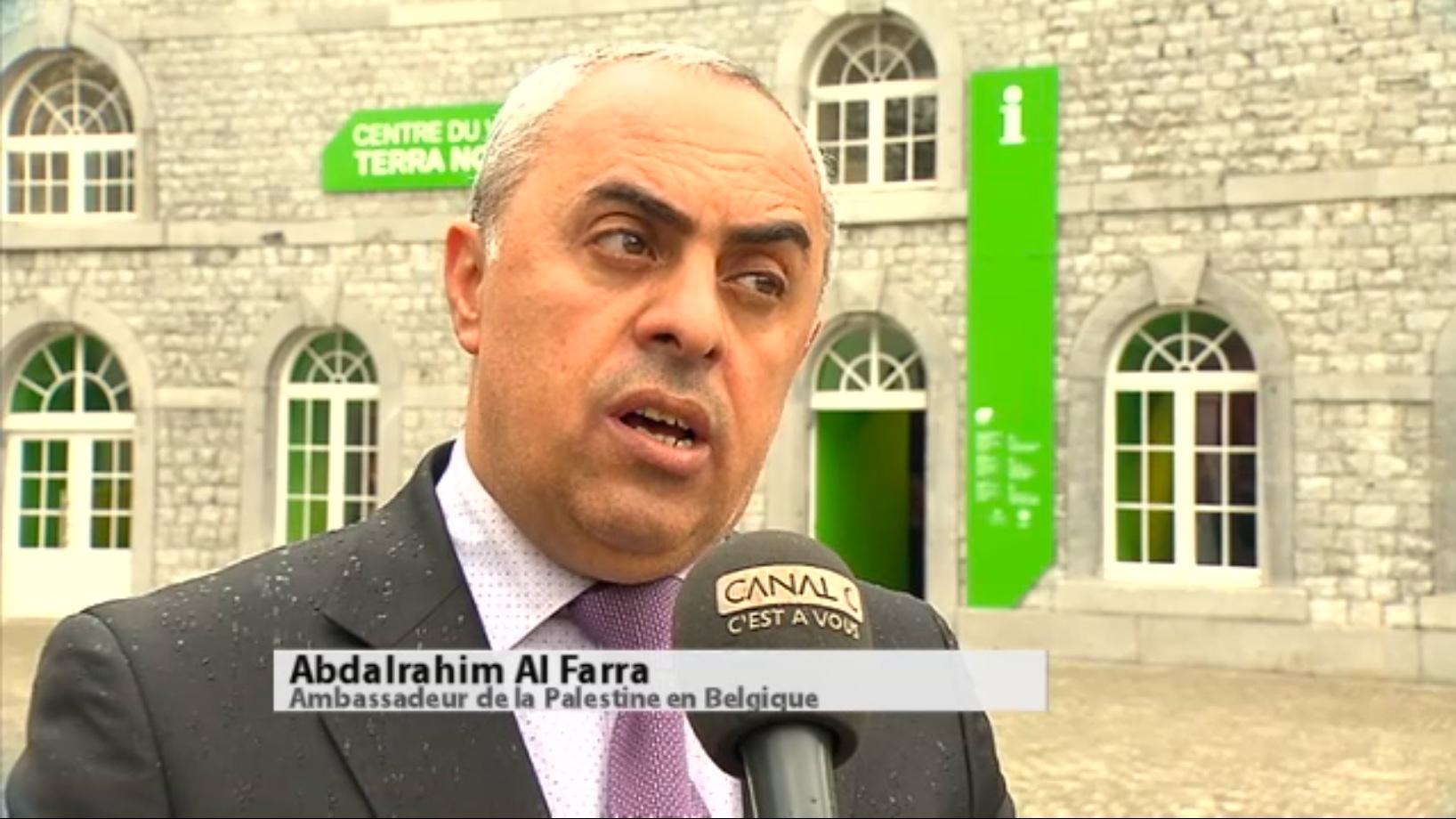 Ambassadeur palestinien en Belgique