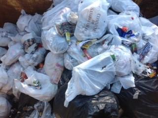 Sambreville - 3,5 tonnes de déchets collectés en 5 jours!