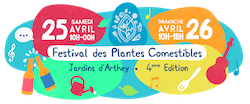 logo festival plantes comestibles