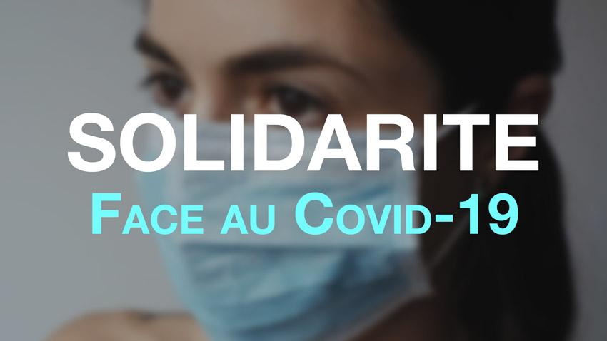 Solidarité face au covid-19