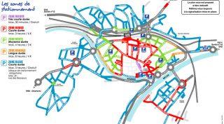 Plan de stationnement Namur