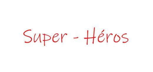 Logo chanson Super heros