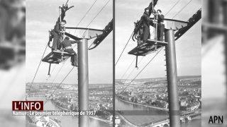 vieille photo pylone téléphérique