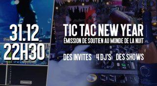 Tic tac new year evenement